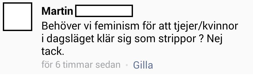feministerna är de riktiga rasisterna