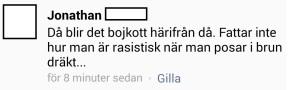 vaddå rasistiskt
